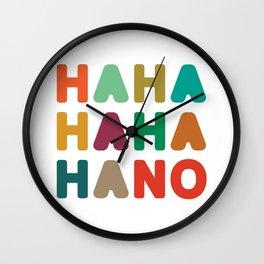Hahahahaha no Wall Clock