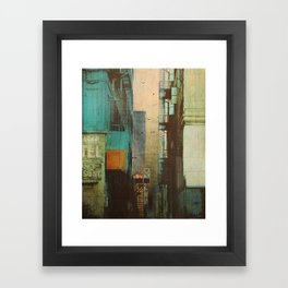 ESCAPE ROUTE Framed Art Print