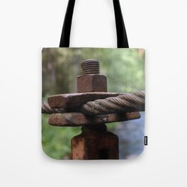 Old love never rusts Tote Bag