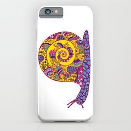 Colorful Snail iPhone Case