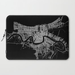 New Orleans map Laptop Sleeve
