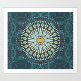 Rivets In Cognition Art Print