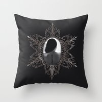 2ne1 Throw Pillows featuring Missing You by Samera Tseng