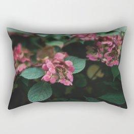 Hydrangeas in the Garden Rectangular Pillow