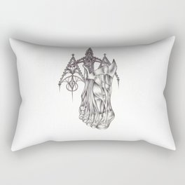 I don't know who lives there. I don't know what happened. Rectangular Pillow
