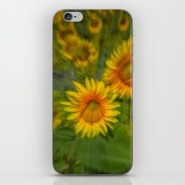 SUNFLOWERS 5 iPhone Skin