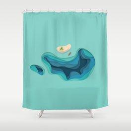 Breathe Deep Shower Curtain