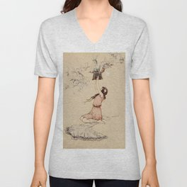 The Fairy box Unisex V-Neck