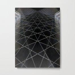 Quantum web Metal Print