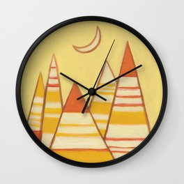 THE NEW DAY Wall Clock