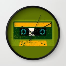 Back to the 80's K7 Wall Clock