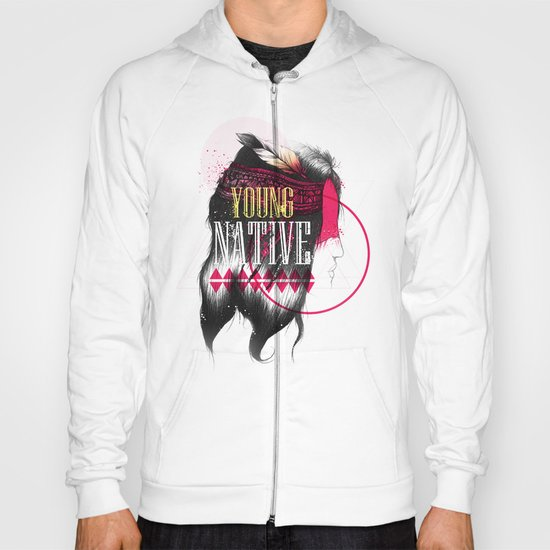 Young Native Hoody