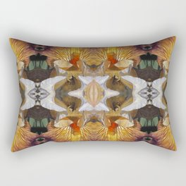 Like A Rainbow Iris Rectangular Pillow