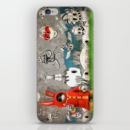 Super Bunny iPhone Skin