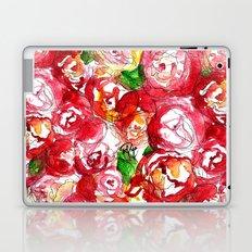 Cherry Peonies Laptop & iPad Skin