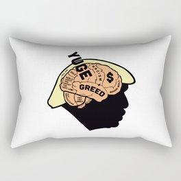 Trump's Brain Rectangular Pillow