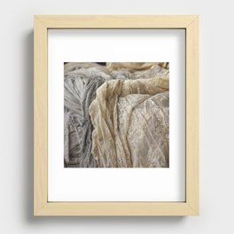Lace Recessed Framed Print