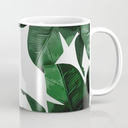 Banana Palm Leaves Coffee Mug