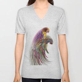 parrots Unisex V-Neck