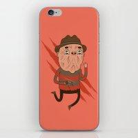 freddy krueger iPhone & iPod Skins featuring Freddy by Daniel Mackey