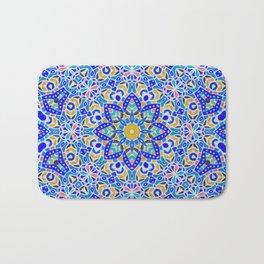 Arabesque kaleidoscopic Mosaic G512 Bath Mat