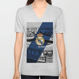 Real Madrid Unisex V-Neck