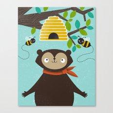 Honey! Canvas Print
