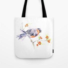 British Birds 2012 Series - Bullfinch Tote Bag