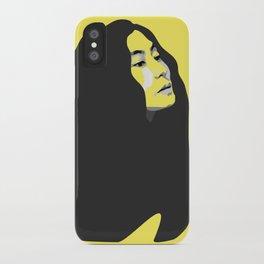 Yoko Ono - Pop Style iPhone Case
