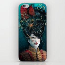 Queen of the Wild Frontier iPhone Skin