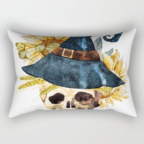 Skull 05 Rectangular Pillow