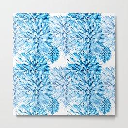 Blue Frost Metal Print