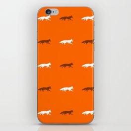 Orange Foxes! iPhone Skin