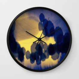 Dune Clouds Wall Clock