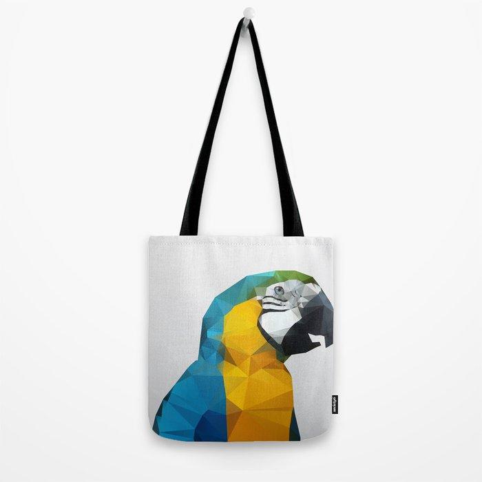 Geo - Parrot Tote Bag