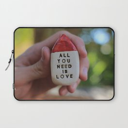 All You Need Is Love House Laptop Sleeve