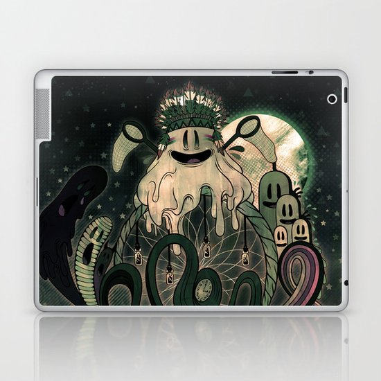 The Dream Catcher: Old Hag's Bane Laptop & iPad Skin