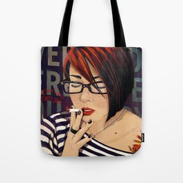 EVERYBODY HERE LOVES YOU Tote Bag