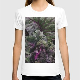 Moody legume leafs in vegetable garden | Nature photography  T-shirt