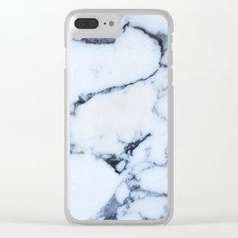 blue rock Clear iPhone Case