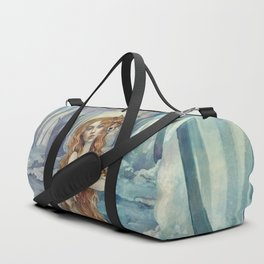 Winter fox Duffle Bag
