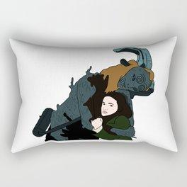 Ofelia y El Fauno Rectangular Pillow