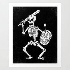 the dead cannot die Art Print