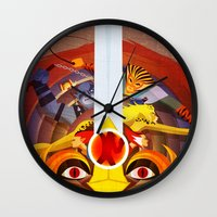 thundercats Wall Clocks featuring HO by modHero
