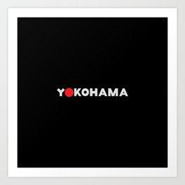 Yokohama Art Print