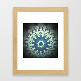 Akashic Mandala Framed Art Print