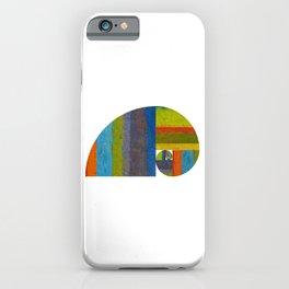 Golden Spiral Study iPhone Case