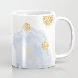 Blue & Gold Art Coffee Mug