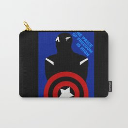 Quote Cap America Carry-All Pouch