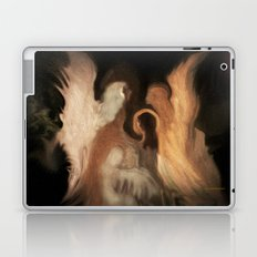 Little Family Of Angels, Abstract, by Sherriofpalmsprings Laptop & iPad Skin
